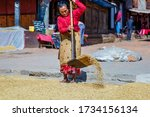 Bhaktapur  Nepal   October 27...