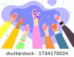 concept of healthcare  charity  ...   Shutterstock .eps vector #1734170024