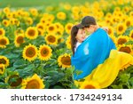 Happy Ukrainian Children Hug...