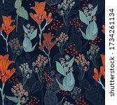 new stylish  vibrant... | Shutterstock . vector #1734261134