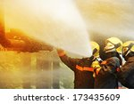 Firefighters Fighting Fire...