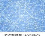 ice texture background. vector... | Shutterstock .eps vector #173438147