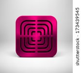 magenta abstract technology app ...