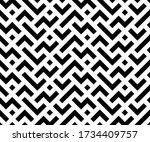 abstract geometric pattern with ... | Shutterstock .eps vector #1734409757