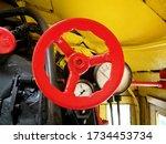 Fragment Of Steam Locomotive...