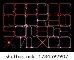 typographic poster design...   Shutterstock .eps vector #1734592907