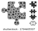 collage puzzle detail united...   Shutterstock .eps vector #1734605537