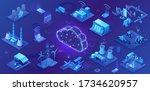 industrial internet of things ... | Shutterstock .eps vector #1734620957