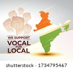 vector illustration for indian... | Shutterstock .eps vector #1734795467