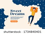 sweet dreams  good health...   Shutterstock .eps vector #1734840401