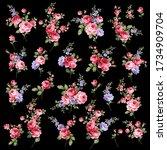 rose vector illustration... | Shutterstock .eps vector #1734909704