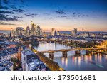 frankfurt  germany financial... | Shutterstock . vector #173501681