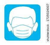 covid 19 coronavirus prevention ...   Shutterstock .eps vector #1735024007