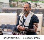 Israel  Jerusalem. A Jewish Man ...