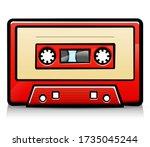 Vector Vintage Audio Tape...