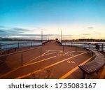 Sun Down At New Brighton Pier ...