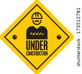 under construction | Shutterstock .eps vector #173512781