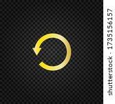 undo icon vector.circular arrow ...