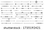 ornamental vintage borders  ... | Shutterstock .eps vector #1735192421