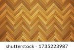wooden parquet floor texture ... | Shutterstock .eps vector #1735223987