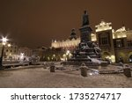 Main Square Of Cracow By Night...