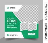 real estate social media post...   Shutterstock .eps vector #1735322267