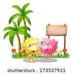 illustration of the happy... | Shutterstock . vector #173537921