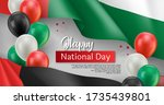 happy arabic national day... | Shutterstock .eps vector #1735439801