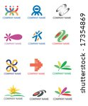 several symbols for use on a... | Shutterstock .eps vector #17354869