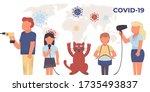 coronavirus. novel coronavirus  ... | Shutterstock .eps vector #1735493837