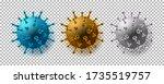 coronavirus isolated vector... | Shutterstock .eps vector #1735519757