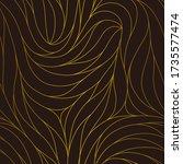 elegant seamless floral pattern.... | Shutterstock .eps vector #1735577474