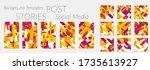 social media story templates....   Shutterstock .eps vector #1735613927