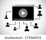 spectator illustration | Shutterstock .eps vector #173566931