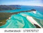 Whitehaven Beach In The...