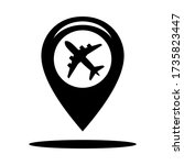 gps icon map location for...
