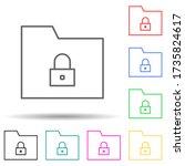 data protection multi color...