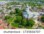 Aerial View Of Maryland State...