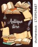 Antique Books Shop  Vintage...