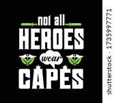 nursing quotes t shirt design. | Shutterstock .eps vector #1735997771