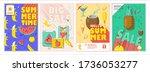 vector illustration. a set of... | Shutterstock .eps vector #1736053277