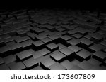 background with many cubes | Shutterstock . vector #173607809