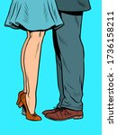 Feet  A Couple Kissing When...