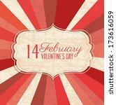 love design over grunge... | Shutterstock .eps vector #173616059