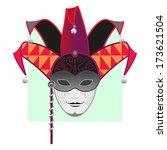 carnival mask masquerade mardi... | Shutterstock . vector #173621504