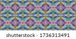 chevron geometric swimwear... | Shutterstock . vector #1736313491
