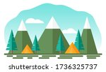 stylized application vector... | Shutterstock .eps vector #1736325737