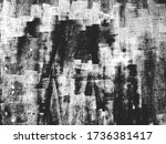 distressed overlay texture of... | Shutterstock .eps vector #1736381417