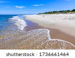 Beautiful Sandy Beach On Hel...