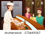 a vector illustration of... | Shutterstock .eps vector #173669267